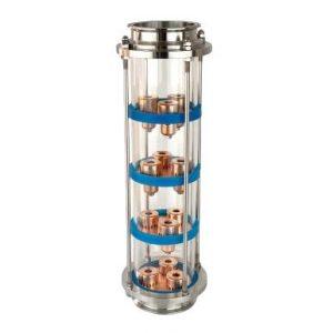 Glass column