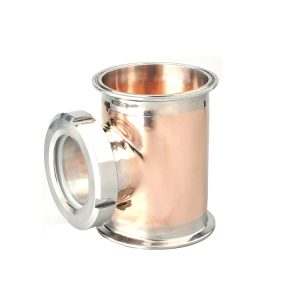 Copper T-section